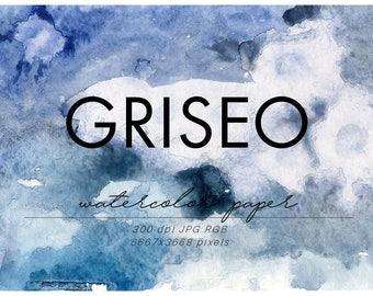 Grey Watercolor Paper, Grey Watercolor Texture, Blue Watercolor Textures, watercolor washes, Grey clipart, watercolor background, blue