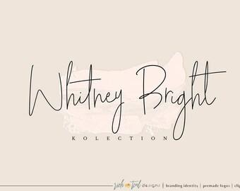 Logo premade, Blog logo, logo minimal, logo style, filigrane, logo de maquillage, logo de la beauté, logo féminin, photographie Logo, logo de la signature