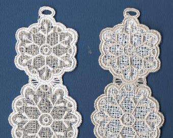 Bookmark - Snowflakes