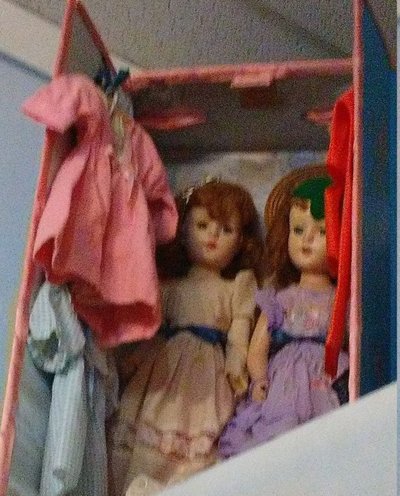 Sweet Sue Sue Sue fois 2 - paire de American personnage Sweet Sue la poupée avec armoire - comprend les costumes, robes et un tronc personnalisé | De La Mode  7a9524