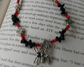 Tarantula Charm beaded Bracelet