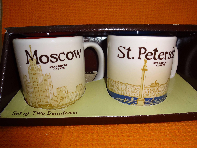 Direct from Moscow. Original Starbucks tumbler Matryoshka Russia 355 ml