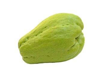 3 Fresh CHAYOTE- Mirliton squash, gourd, organic plant, vegetable pear