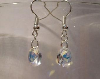 Swaroski Teardrop Earrings