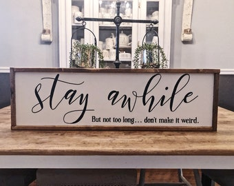 Rustic Home Decor Signs Etsy