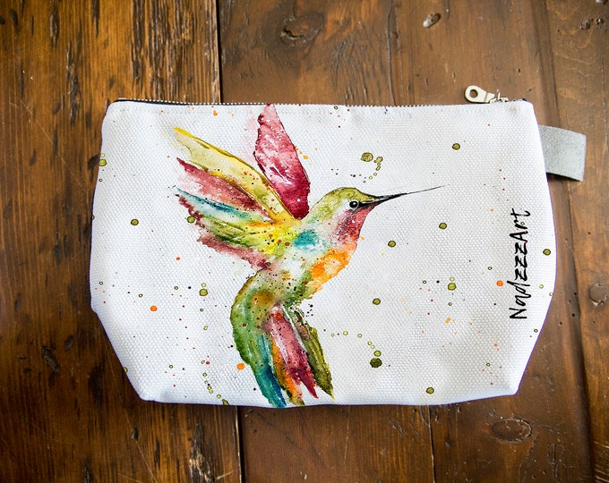 Large all purpose pouch, Hummingbird