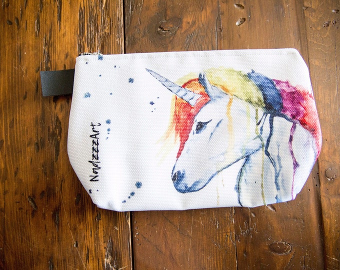 Large all purpose pouch, Unicorn