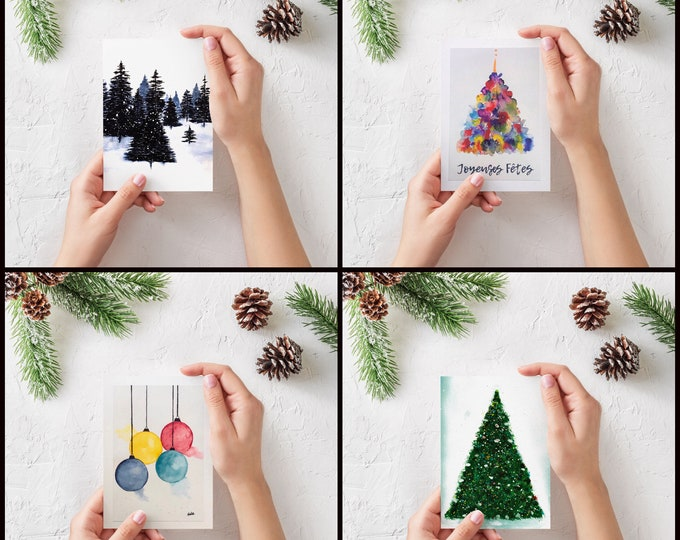 Holiday greeting cards bundle
