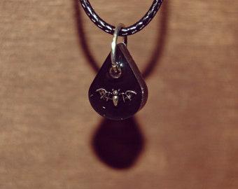 TINY BAT NECKLACE