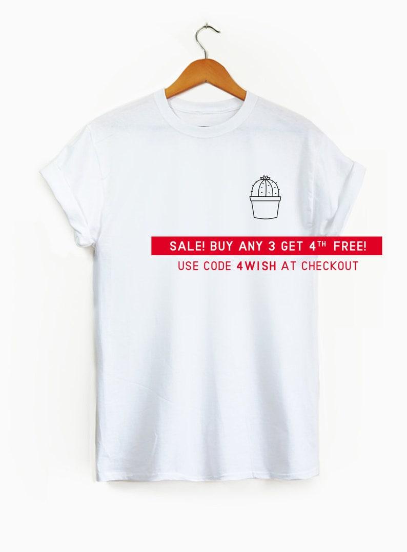 d41ac755cde Round Cactus Pocket shirt Cute shirt cute graphic tee