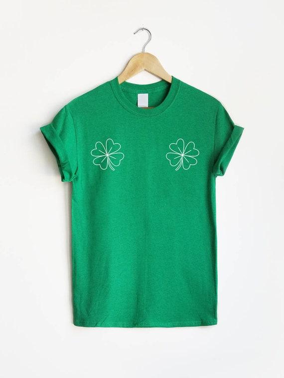 Overland Park City Shamrock Cotton Long Sleeve T-Shirt