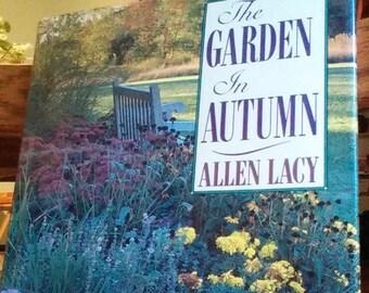 Beautiful Vintage Book--The Garden in Autumn