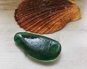 2 inch Old Teal sea glass. Authentic sea glass. Genuine sea glass. Surf-tumbled sea glass. Collectors sea glass 3171