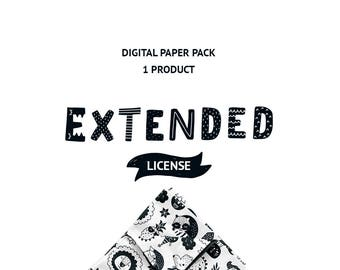 Extended license Digital paper pack 1 Product Unlimited Commercial License
