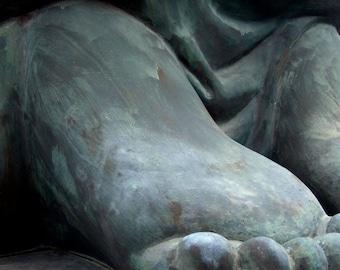 At the foot of Big Buddha