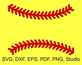 Softball Stitches SVG Files to make Softball Monograms and Shirts