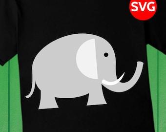 Elephant SVG File and printable Elephant clipart