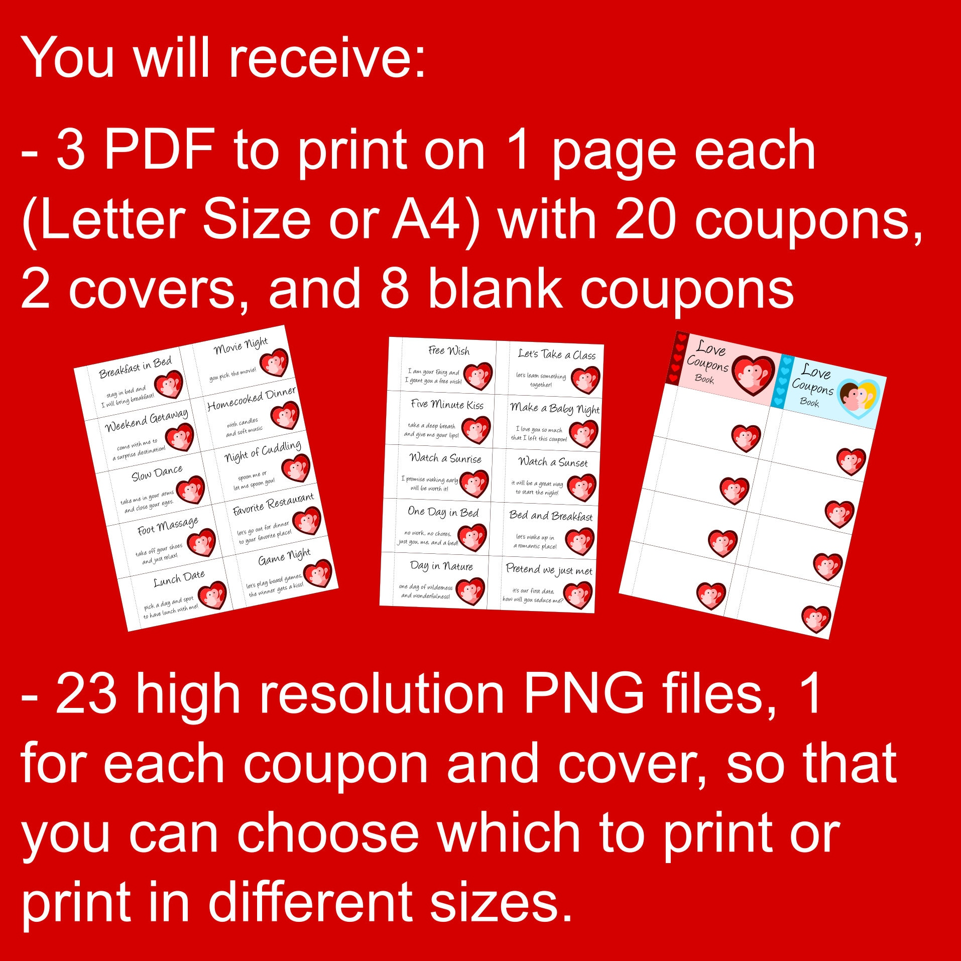 Perfect Last Minute Valentine Gift Idea for Him or Her: a Printable