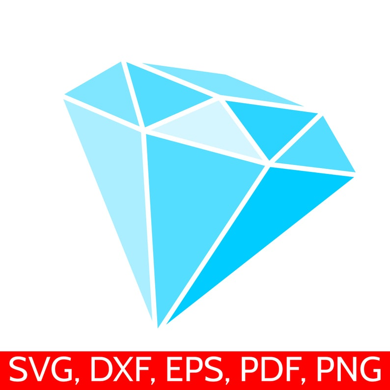 image about Diamond Printable named Blue Diamond SVG record, Diamond Clipart, Diamonds Printable PDF, Diamond SVG information for Cricut and Silhouette, Engagement svg documents