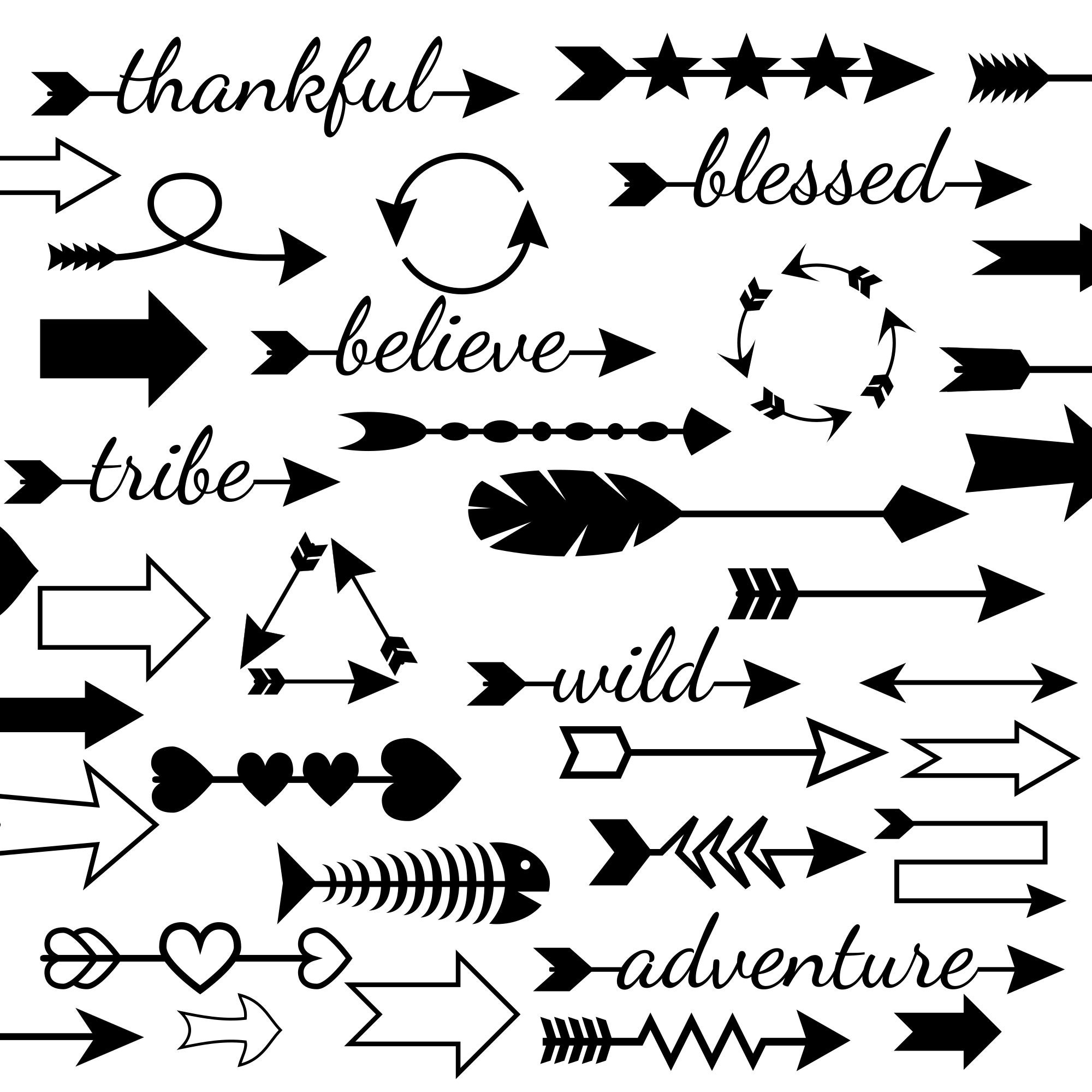 50 Arrow Svg Files And Arrows Clipart In Dxf Pdf Eps And Png