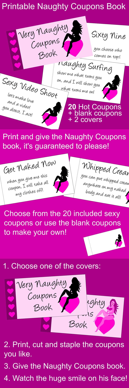 satisfaction guaranteed  printable very naughty coupons