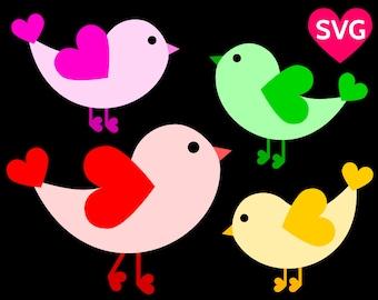 Bird SVG file, Birds SVG files for Cricut & Silhouette, Bird clipart, Birds print, Birds Cricut, Birds clip art, Cute SVG, dxf, pdf files