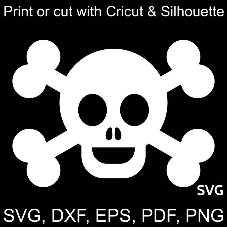picture about Pirate Flag Printable identified as Delighted Pirate Flag SVG document, Pirate SVG, Skull and bones SVG, Pirate Birthday Svg, Pirate Social gathering Svg, Printable Pirate Flag clipart pdf dxf