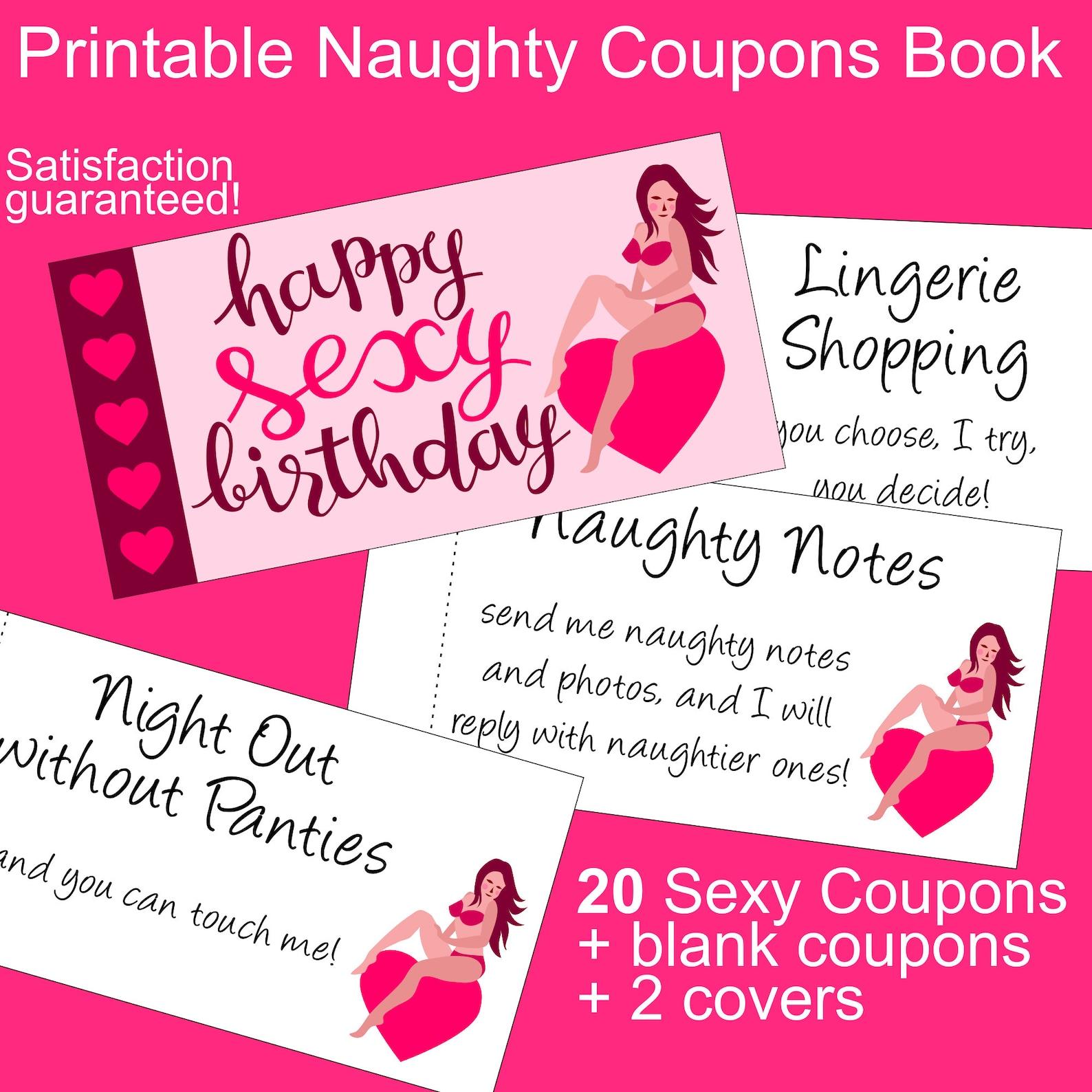 Naughty Christmas Coupon Book