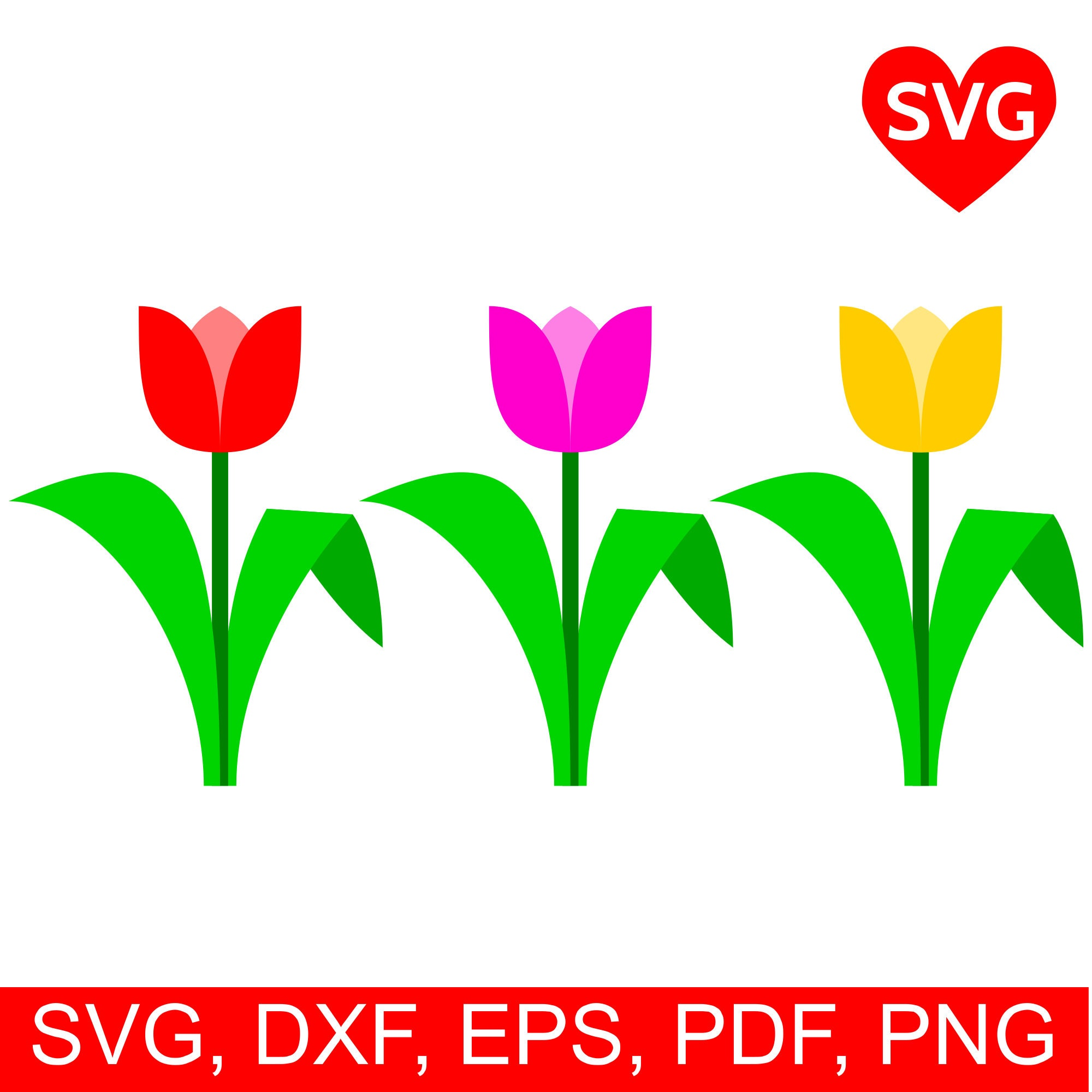picture regarding Tulip Printable identify Tulip SVG Report for Cricut and Silhouette and Tulip printable