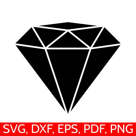 graphic relating to Diamond Printable known as Diamond SVG Record, Diamond Clipart, Diamond DXF, Diamond Silhouette, Diamond Cricut, Engagement SVG Data files, Diamonds Clip artwork, Black Diamond