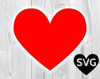 Heart SVG file, Cricut Heart SVG cut file, Heart Clipart, Heart DXF, Heart Shape, Heart Silhouette, pdf, eps, png