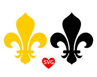Fleur de Lys SVG Files, Royal Fleur de Lis clipart, Fleur de Lys SVG files for Cricut, King Queen Prince and Princess SVG files, Royalty svg