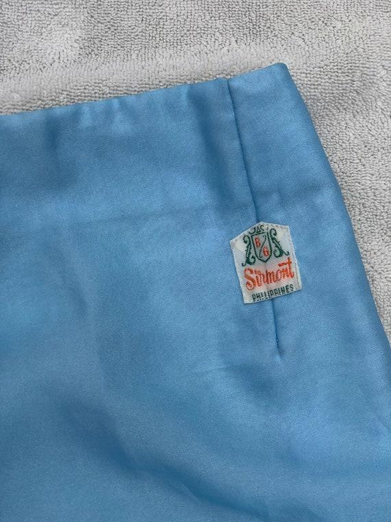 Vintage 1960s Set// Floral Embroidery// Flares//P… - image 5