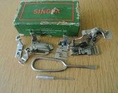 Vintage Singer 221, 222, 99, 66, 15, 201 Sewing Machine attachments Accessories