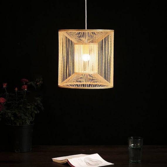 Arturest Wabi Sabi Handcraft Lamps Artistic Handmade Bamboo Etsy