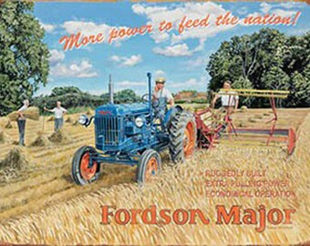 Rover 80 /& 100 Models Classic//Vintage Car /& Tractor Farm Medium Metal Tin Sign