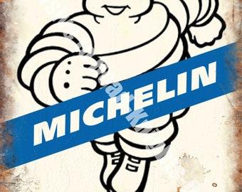 Michelin Tyres Door Sign Great for Work Shop Garage etc Wall Plaque