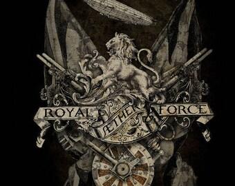 Steampunk Empire Britannica Gothic Medium Metal Tin Sign Alchemy
