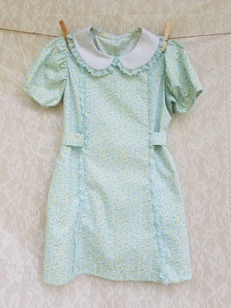 7290b655608 Girls vintage style dress dress for toddler birthday dress