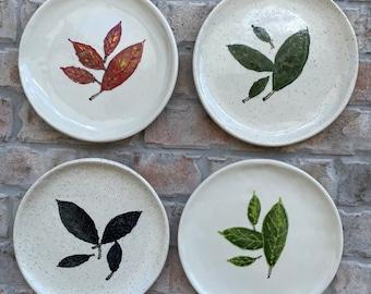 Four Seasons Plate Set