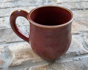 Deep Red Mug