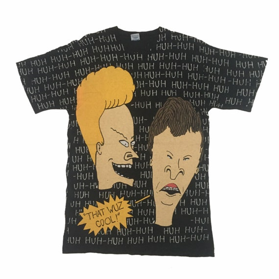 Vintage1993s Beavis And Butthead Huh Huh Huh Size.