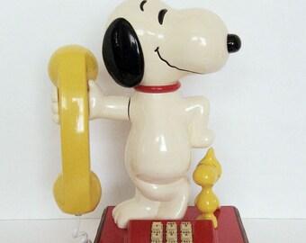 Snoopy Phone - Vintage - 1976
