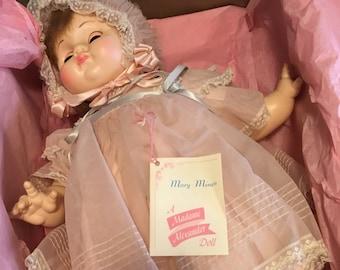 Madame Alexander - Mary Mine Doll - Vintage - 1970s