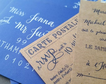 Custom Calligraphy/ Hand-Lettering for Your Event!