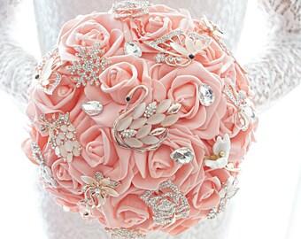 Bouquet Zetta, brooch bouquet