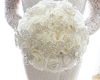 Bouquet Iccy, brooch bouquet