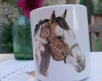 Cup Breakfast head horse