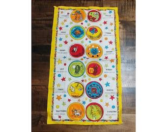 Colorful Zodiac Mat