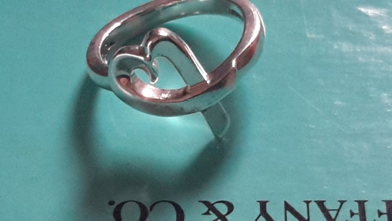 Tiffany & Co Paloma Picasso silver ring